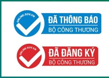 Cách phân biệt logo đã thông báo và đã đăng ký với Bộ công Thương