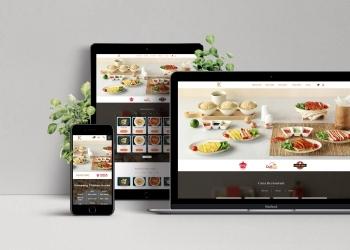 Thiết kế website cho nhà hàng