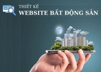 Thiết kế websibe bất động sản chuẩn chuyên nghiệp